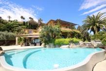 Villa Sainte Maxime vue mer féerique