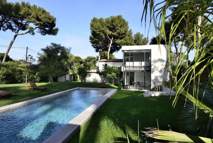 Location Maison Cap D Antibes Villa Moderne Avec Piscine Et