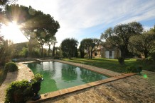Provencal villa for sale West Cap d'Antibes - Gated domain - Privileged sector