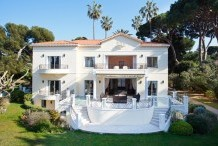 Outstanding villa - West Cap d'Antibes - Sea front - Swimming pool - Tennis
