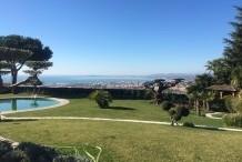 Belle villa 500 m² avec un jardin splendid de 5000 m² et vue mer