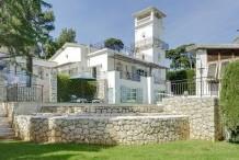 Villa Cap d'Antibes Garoupe - 6 chambres - vue mer - jardin et piscine