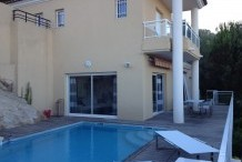 Villa privée avec piscine, vue mer et 3 chambres