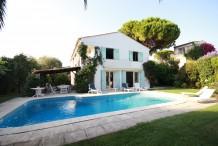 Villa Cap d'Antibes Ouest - 5 chambres - piscine - secteur plages des Ondes