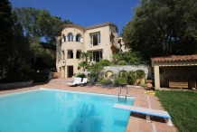Villa Cap d'Antibes Ouest - 6 chambres - piscine - vue mer panoramique