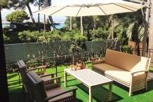 Villa moderne avec 4 chambres et piscine privé au Cap d'Antibes, proche plage