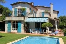 Villa provencale avec piscine à 5 min à pied des plage de Juan les Pins
