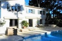 Villa avec 5 chambres et piscine proche plage de la Garoupe
