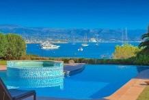 Belle villa néo-provençale avec une vue exceptionelle sur la mer et les Aples