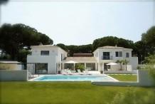 Villa St Tropez Front mer