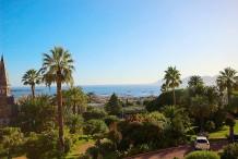 Bel apppartement de 200 m, vue mer panoramique, 3 chambres, résidence de luxe