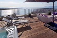 Magnifique duplex avec grandes terrasses et vue sur la mer