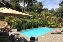 Villa avec 4 chambres et piscine, proche plages