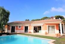 Villa de plein pied proche plage de la Garoupe