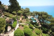 Belle Epoque villa with panoramic sea view, near Monaco