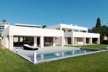 Villa neuve moderne 6 chambres, proche plage de la Garoupe