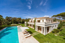 Villa d'exception au Cap d'Antibes, 9 chambres