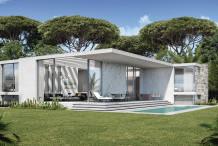 Villa contemporaine d'architecte neuve à 2 pas de la mer