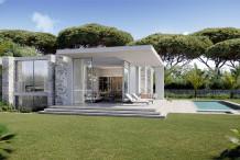Villa neuve d'architecte à deux pas de la mer au Cap d'Antibes
