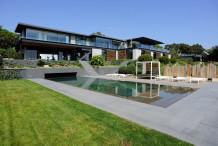 Villa d'exception avec vue sur le mer, à 400 m de la plage de Pampelonne