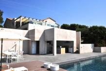 Maison avec 5 chambre, piscine et vue mer