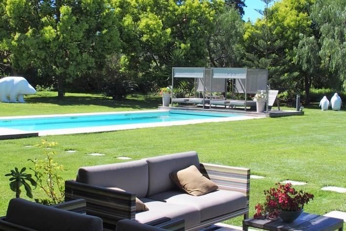 Jardin Villa Moderne