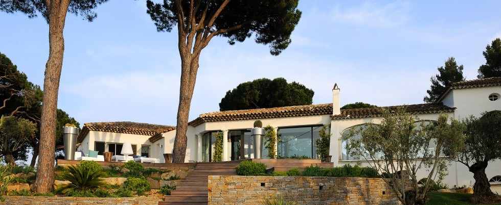 FOR RENT : luxury villa, gated domain, 10 000 sqm garden - Sainte Maxime