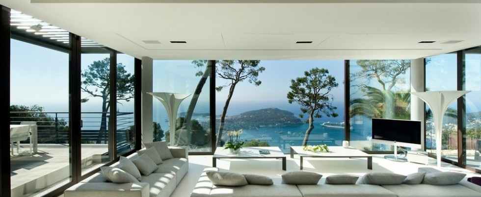Contemporain villa for rent - Villefranche sur mer