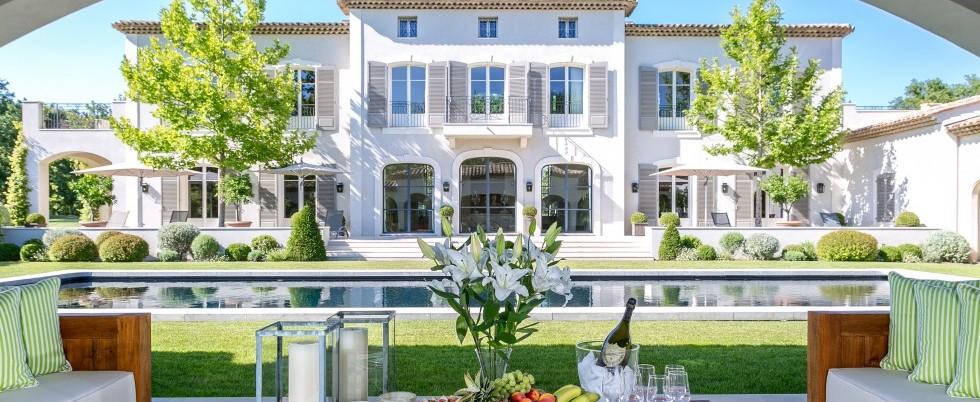 For rent - Bastide provençale - 8 chambres - Helipad