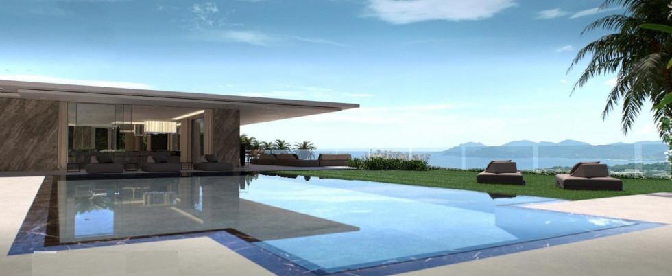 Новая вилла с панорамным видом на море и большым бассейномv - 17 000 000 €