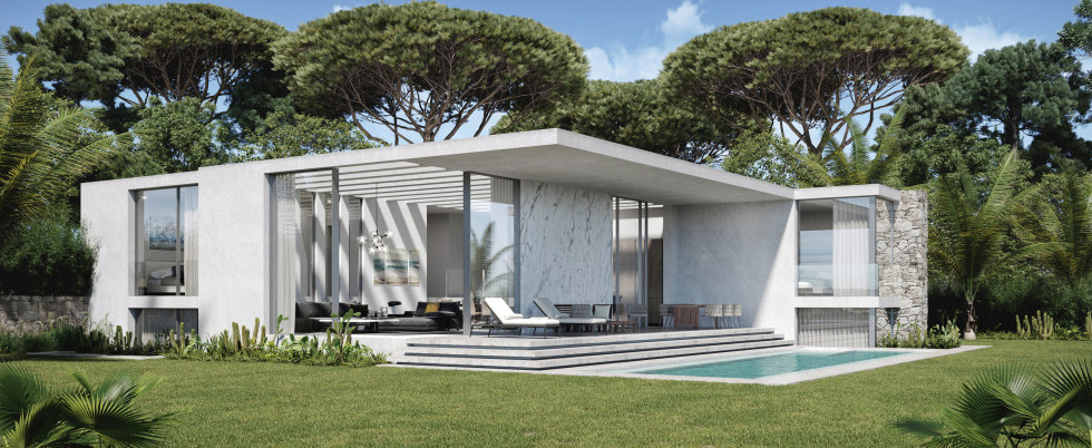 Cap d'Antibes - Superb contemporain villa for sale - 8 000 000 €
