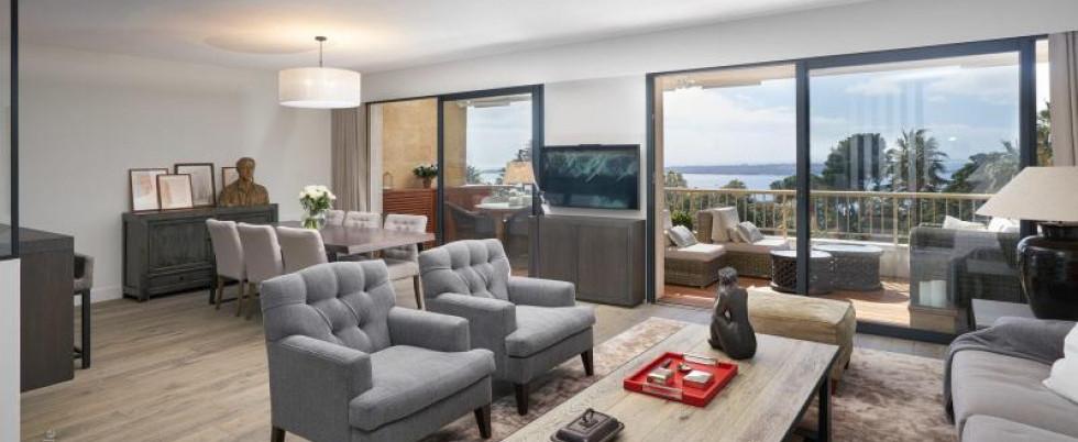 Шикарная квартира с видом на море и южной террасой - 1 490 000 €